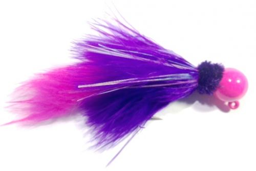 Victoria Secret  Marabou Salmon Twitching Jig w Zonker Tail