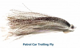 Salmon Trolling Fly- Patrol Car